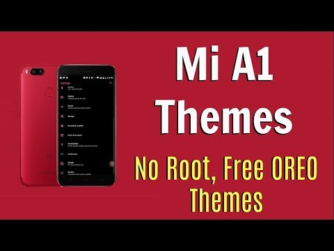 How to Install Themes On Mi A1 Without Substratum, No Root - FREE Mi A1 Themes