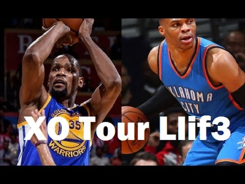 Russell Westbrook and Kevin Durant ~ XO Tour Llif3