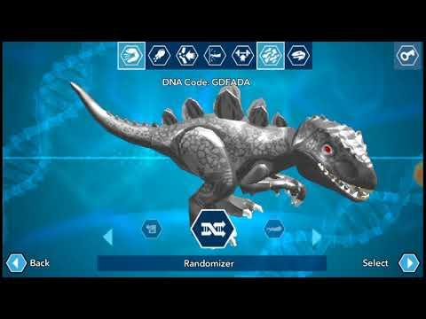 Lego Jurassic world Making Custom Dinosaurs