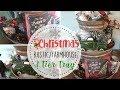 Farmhouse Christmas 3 Tier Tray   Rustic Farmhouse Christmas Decor   Dollar Tree Decor