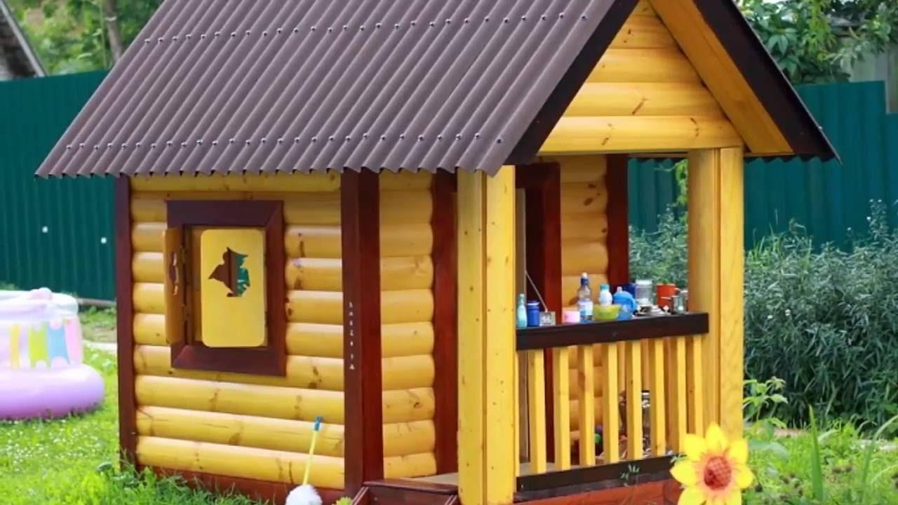 Детские игровые домики из дерева своими руками фото фото 275