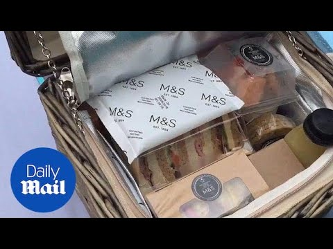 Fit for a Queen: A look inside hampers for Patron's lunch guests - Daily Mail
