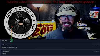 CCC 323 - The Mixed Comics Bag Episode w/ Live Chat on Twitch