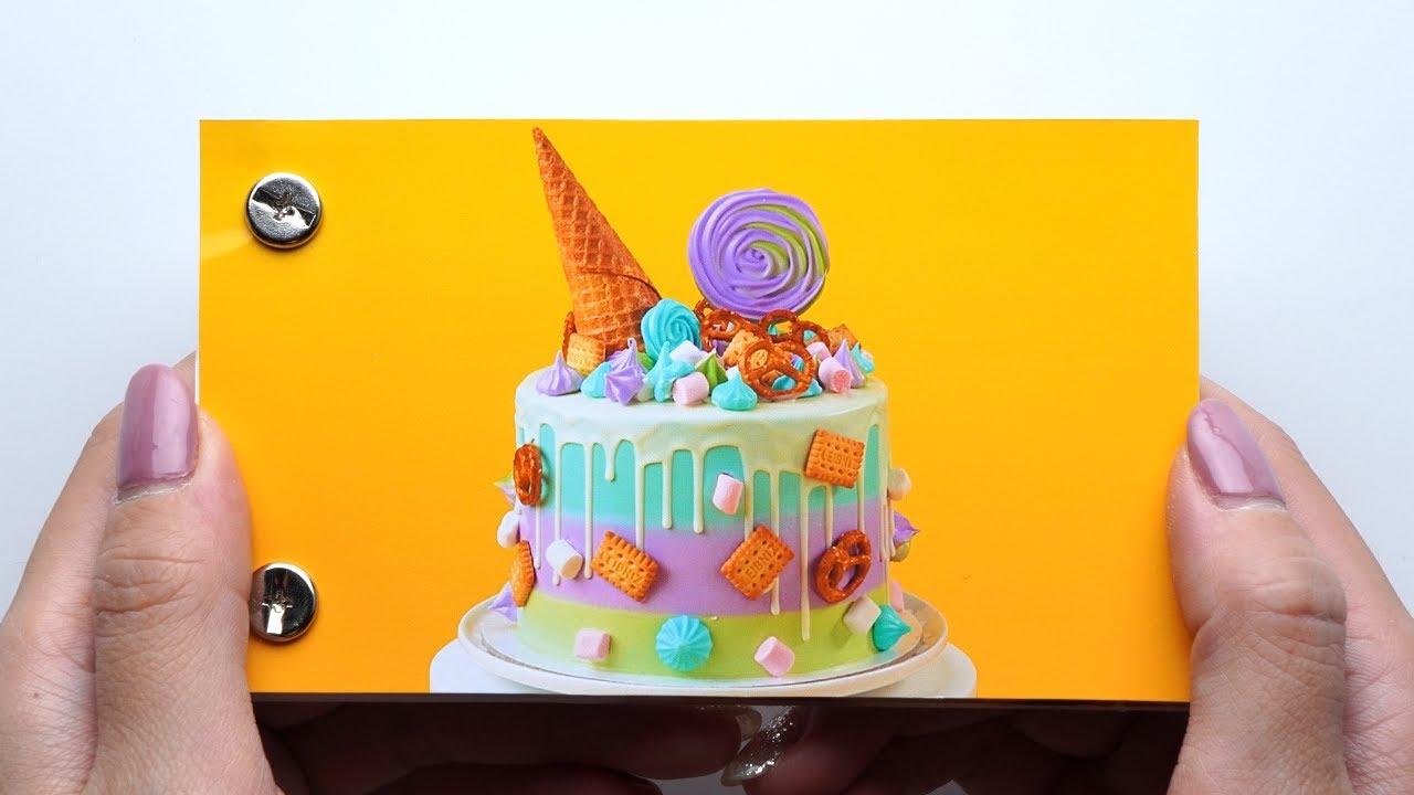 BirthDay IceCream Cake Decorating Ideas FlipBook | Cake FlipBook