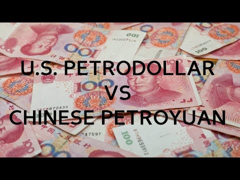 U.S. Petrodollar, Chinese Petroyuan, & Gold (4-19-18)