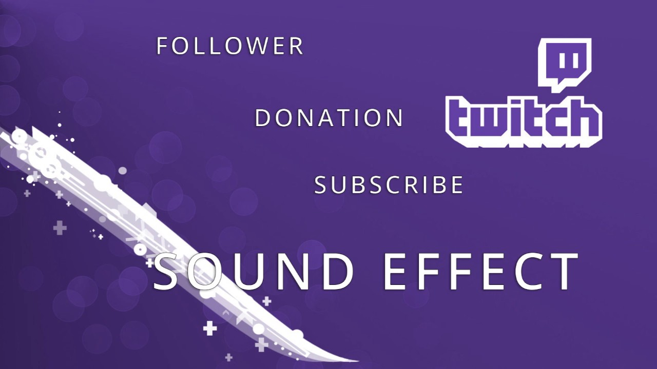 Twitch Alert Sound Effect Follower Donation Subscribe Mega