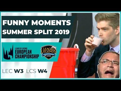 Funny Moments LCS & LEC: Episode 4 | LoL Summer Split 2019