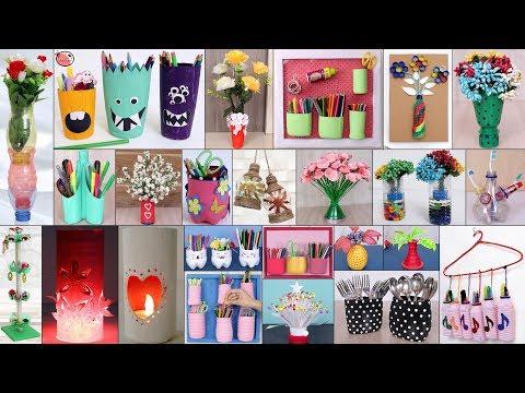 26 Plastic Bottle Craft Ideas !!!