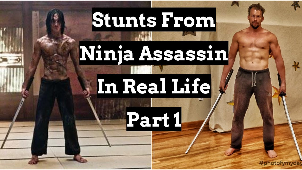 Download Stunts From Ninja Assassin In Real Life Part 1 (Staring Rain, Jung Ji Hoon)
