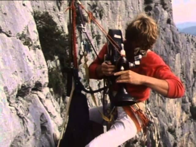 Grimpe dans le Verdon en  1983 - Patrick Edlinger