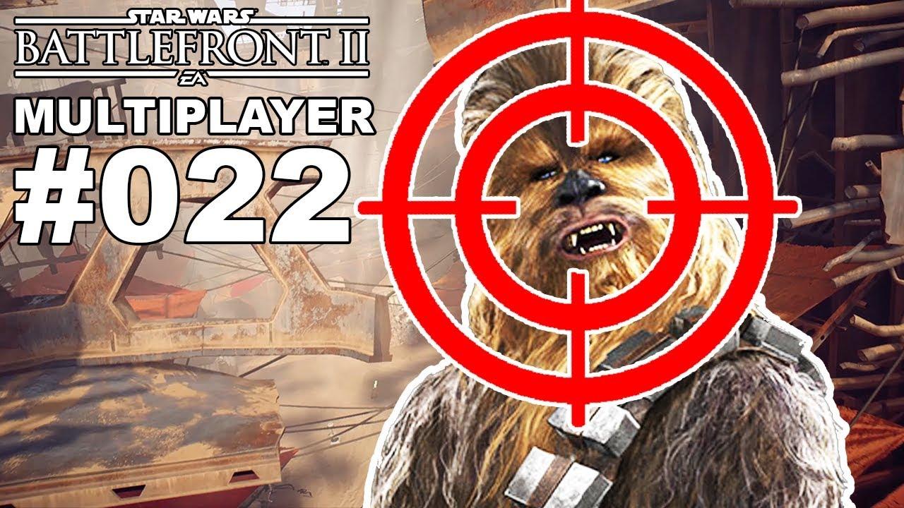 STAR WARS BATTLEFRONT 2 MULTIPLAYER #022 Chewbacca im Fadenkreuz [Deutsch]