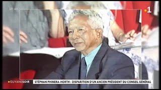 Stéphan Phinéra-Horth : Disparition D'un Ancien Président Du Conseil Général