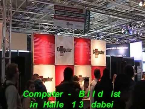 CeBit  2013 ( Hannover ) :  Die  ComputerBild - Zeitung  in  der  Halle  13