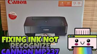 FIX! INK NOT RECOGNIZE CANON M…