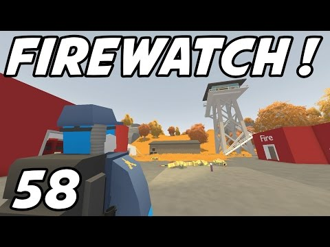 """UNTURNED Role-Play - """"Firewatch Base!!"""" Episode 58 (Russia Map)"""