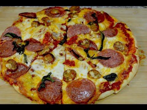 Haciendo pizza en Vivo