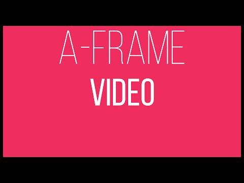 A-Frame WebVR Tutorial 12 - Video