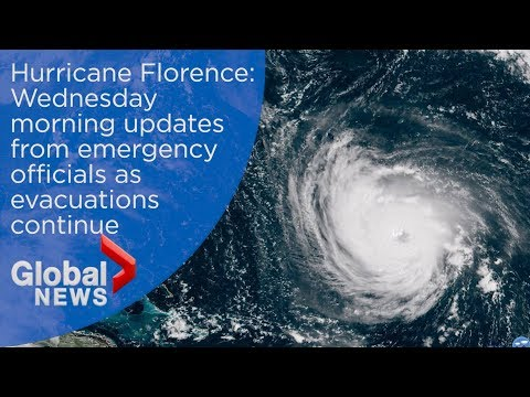 Hurricane Florence: Wednesday morning updates from emergency officials as evacuations continue