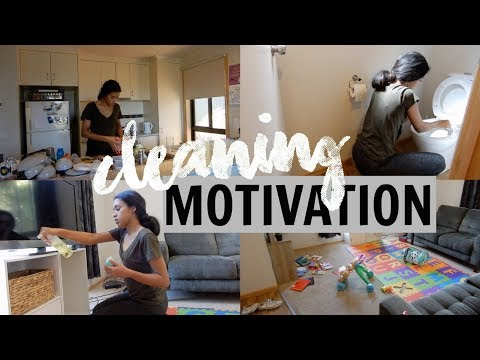 YOUNG MUM QUICK CLEANING ROUTINE (DAILY) ♡ CLEANING MOTIVATION