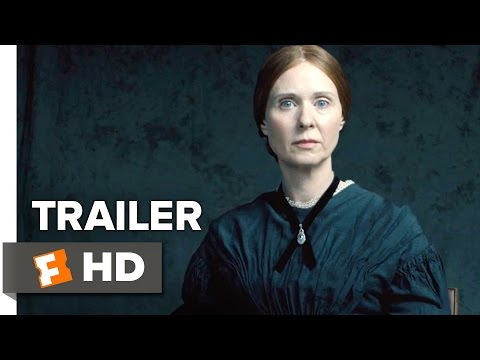 A Quiet Passion Official Trailer 1 (2107) - Cynthia Nixon Movie