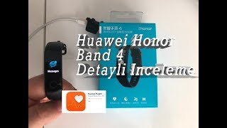 Huawei Honor Band 4 detayli inceleme videosu