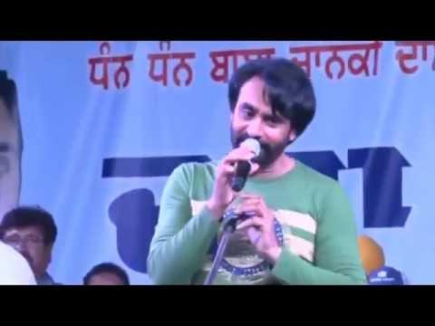 Munda Khalsa College Vich Parda Ae - Babbu Maan (Live Show) || Chandigarh || SECOND KABADDI CUP