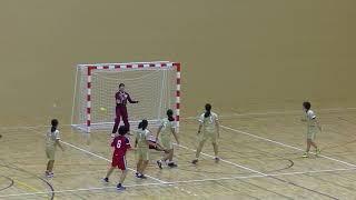 20191214福岡県高校新人ハンドボール(女子)2回戦 筑紫女学園vs光陵(後半)