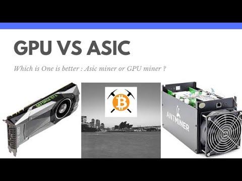 Asic Mining Profits Vs GPU