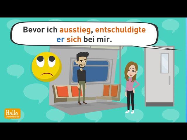 Deutsch lernen mit Dialogen | Wie war dein Date? | indirekte Rede | Konjunktiv 1 | Niveau B2