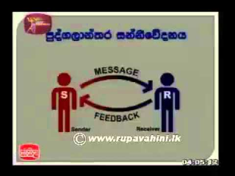 Communication and Media Studies - Lesson 05 | Jathika Pasala | Advanced Level (A/L) [2013]