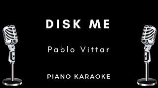 disk me pablo vittar letra karaoke acústico piano instrumental cifra