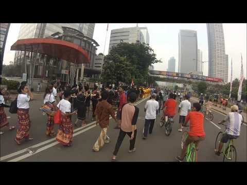 Car Free Day Lombok and Sumbawa Parade