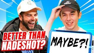 Intern Beats Nadeshot in Insane Call of Duty Trivia Challenge?   Run It Up