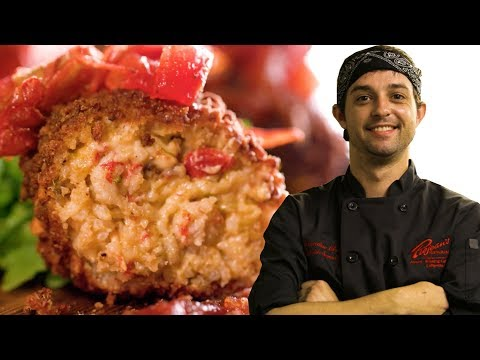Prejean's Crawfish Croquettes As Made By Chef Quintin Scrantz // Presented By Chevrolet