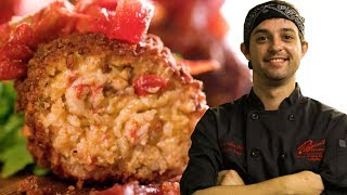 Prejean's Crawfish Croquettes As Made By Chef Quintin Scrantz