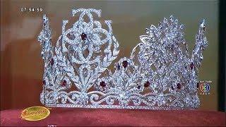 เปิดตัวที่แรก มงกุฎ Miss Thailand World 2018 ประดับทับทิมสีแดง มูลค่า 1.8 ล้าน