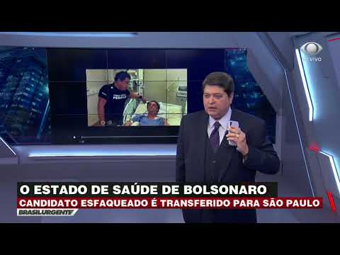 Magno Malta fala com Datena sobre estado de Bolsonaro