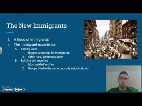 The New Immigrants