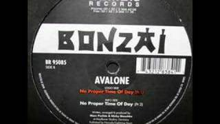 Avalone - No Proper Time Of Day (1995 Hardtrance)