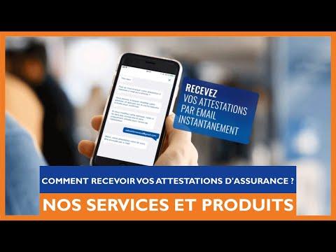 Découvrez comment recevoir une attestation d'assurance depuis l'application GMF Mobile avec Lily