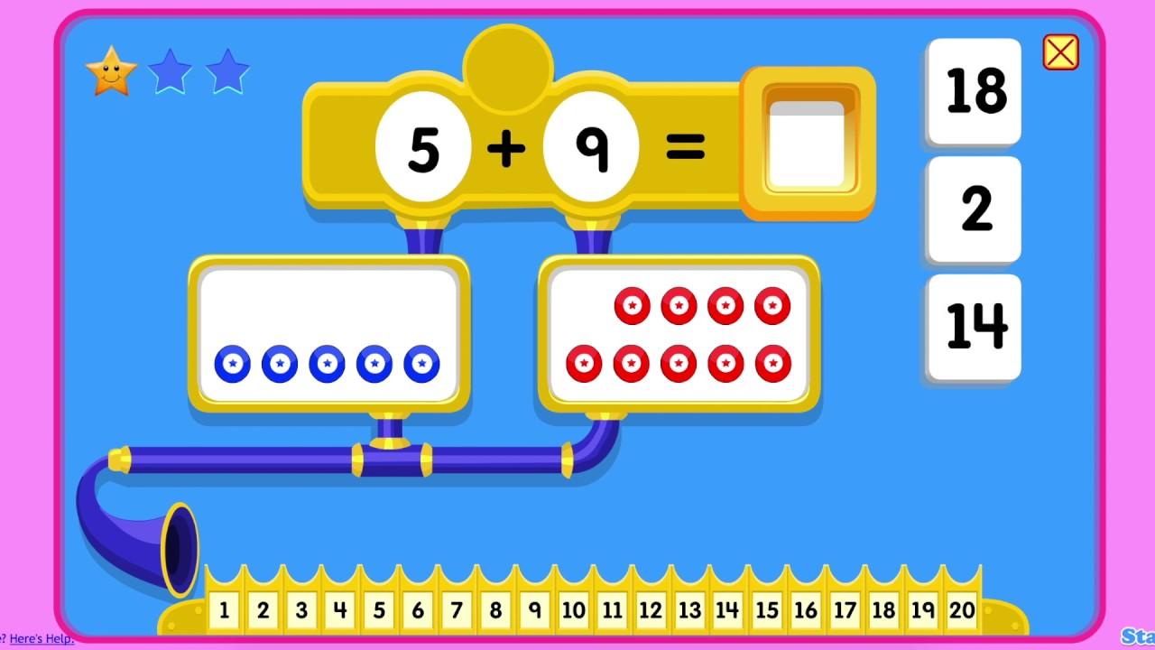 First Grade Math 😃 - YouTube