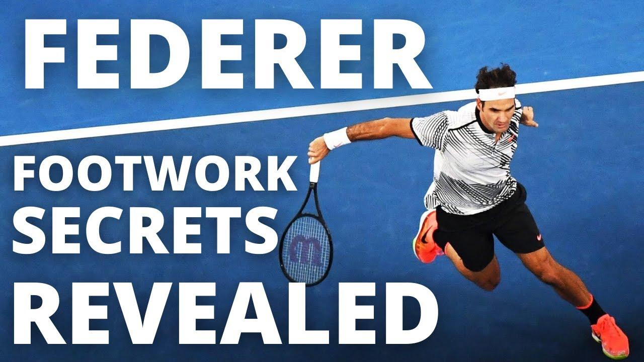 Roger Federer Footwork Secrets Revealed - 3 Steps You MUST Copy
