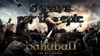 5 Years For Biggest Blockbuster Bahubali The Beginning   Prabhas WhatsApp Status   Die Heart Fans
