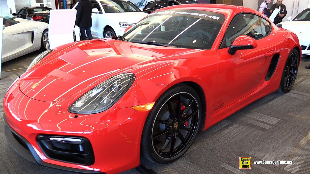 2015 porsche cayman gts exterior and interior walkaround. Black Bedroom Furniture Sets. Home Design Ideas
