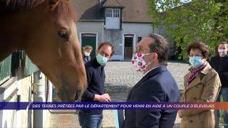 Yvelines | Des terres prêtées par le département pour venir en aide à un couple d'éleveurs.