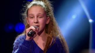 Nina - 'What's The Pressure' | Blind Auditions | The Voice Kids | VTM