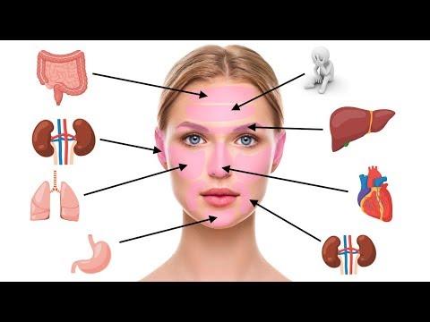 Face Mapping - Was Pickel im Gesicht über deine Gesundheit sagen!