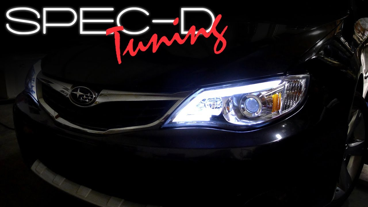 SPECDTUNING INSTALLATION VIDEO 2008  2012 SUBARU IMPREZA