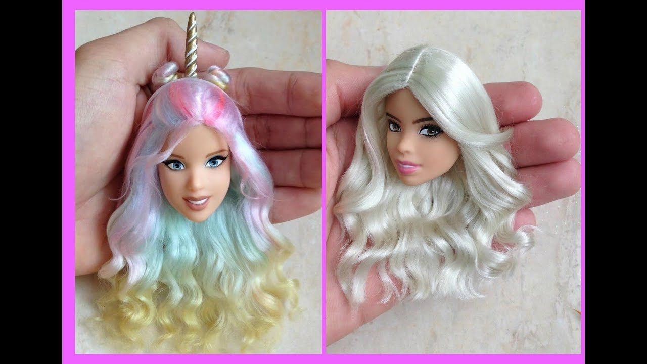 barbie hairstyle hair tutorial