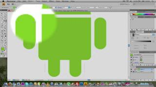How to make the Android logo in adobe illusstrator.